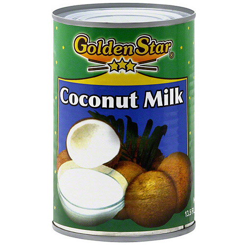 Golden Star Coconut Milk, 13.5 oz (Pack of 12)