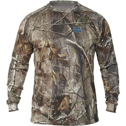 Hunter's Specialties Tek 4 Scent-A-Way Lightweight Shirt, Realtree AP, Small