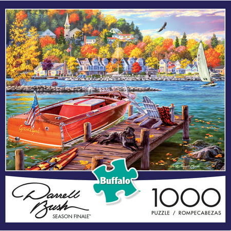 Buffalo Games Darrell Bush: Season Finale, 1000 Piece Jigsaw Puzzle