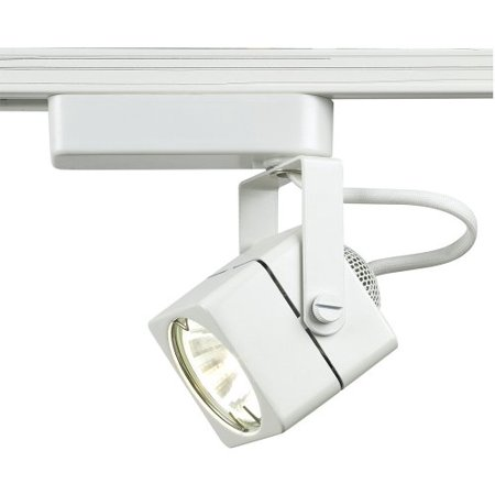Wac Monorail System - LHT-802 Low Voltage Track Heads Compatible with Lightolier Systems, White By WAC Lighting Ship from US