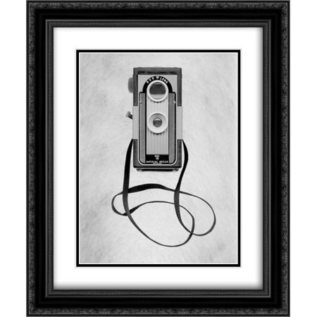 Retro Point and Shoot - 33 2x Matted 20x24 Black Ornate Framed Art Print by Blaustein, Alan
