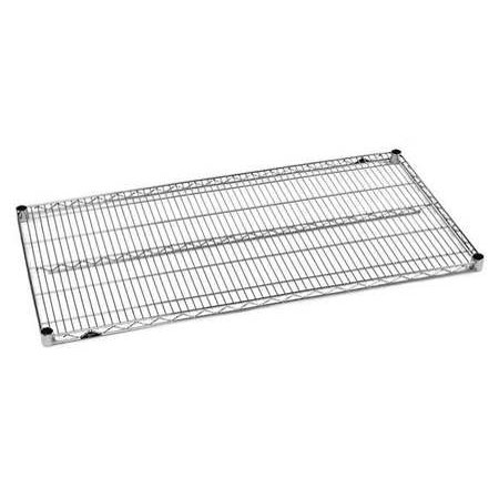 METRO 1424NS-4 Wire Shelf,Super Erecta,14x24,SS,PK4