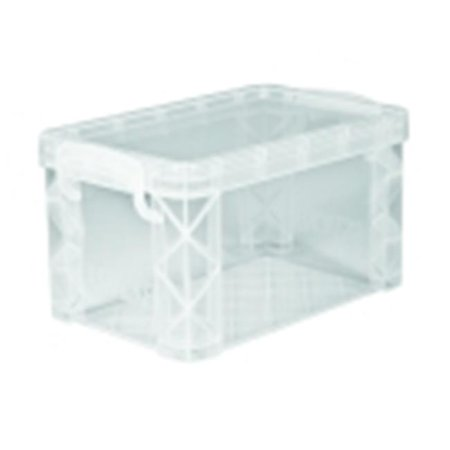 Advantus 3 x 5 in. Plastic File Index Card Holder, Clear](Index Card Storage)