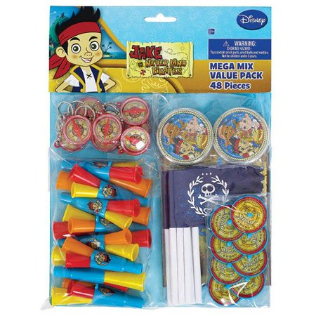 Jake & the Never Land Pirates Favor Pack (48 pc) - Jake The Pirate Birthday Party