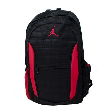 Nike Jordan Jumpman 23 Grid 2-Strap School Backpack - Black/Gym (Jordan Dub Zero Black Infrared 23 Verde)