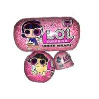 LOL Surprise Series 4 Eye Spy 1x Under Wraps, 1x Pets & 1x Fashion Crush BUNDLE of Mystery Packs [Yellow Diapers]