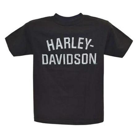 Men's T-Shirt, Heritage H-D Short Sleeve Tee, Black 30296630, Harley - Heritage Show Shirt