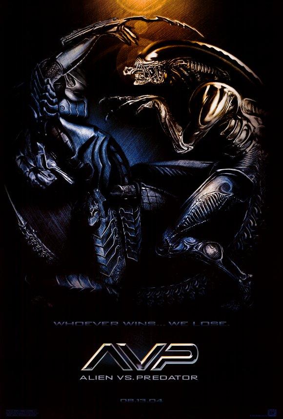 Alien Vs Predator 2004 27x40 Movie Poster Walmart Com Walmart Com