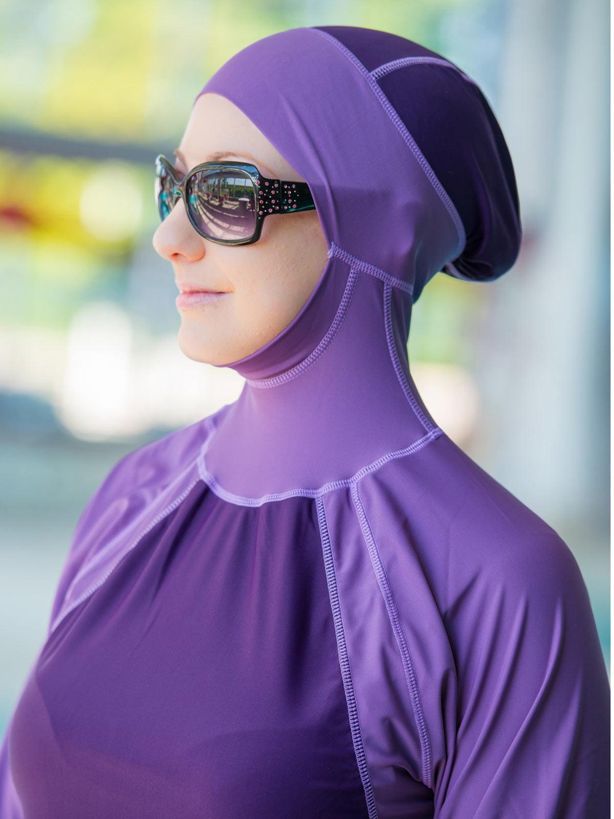 075fd2e30c Al-Sharifa Women s Full Coverage Modest Swimsuit Hijab Hooded Islamic  Swimwear - Walmart.com