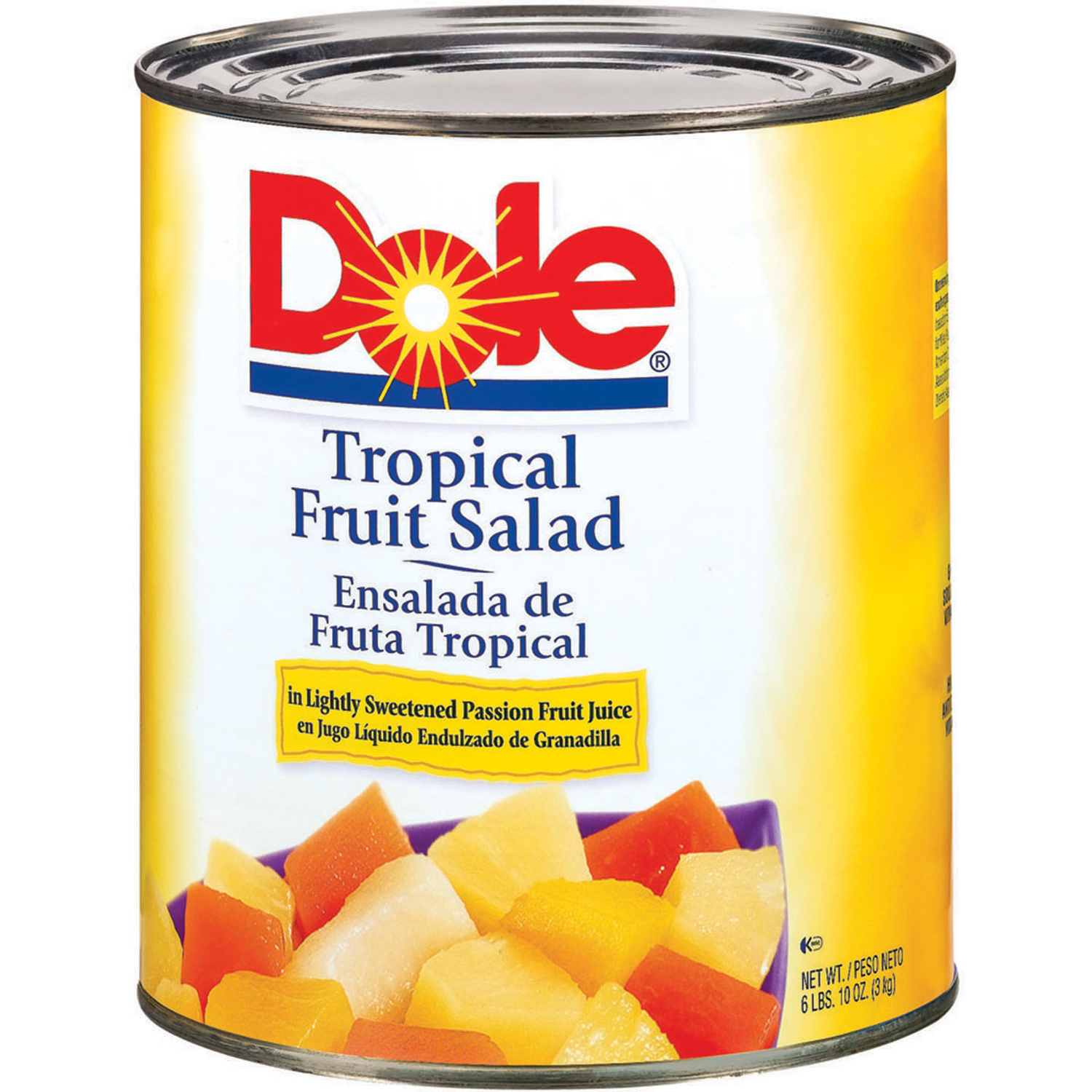 Dole Tropical Fruit Cup Nutrition Facts - Nutrition Ftempo