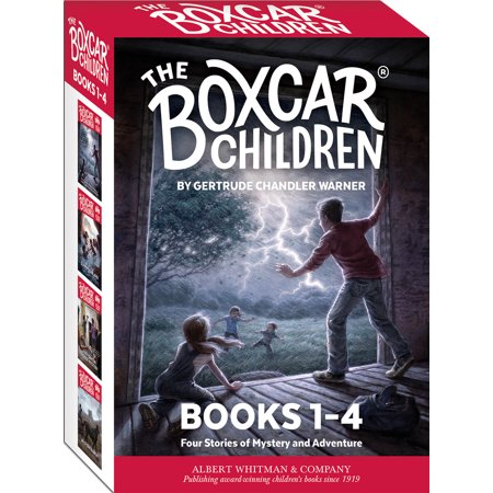 Whittle Boxcar - The Boxcar Children Mysteries Boxed Set #1-4