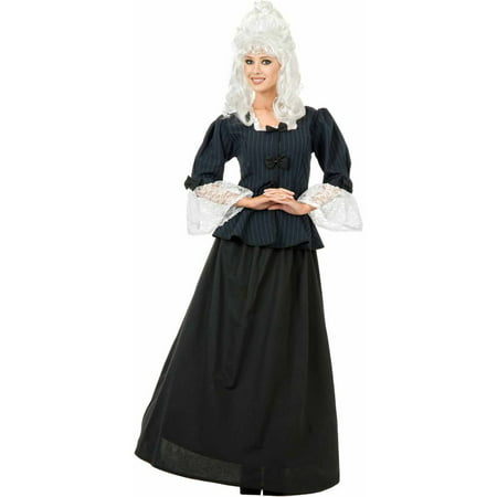 Martha Washington Colonial Woman Women's Adult Halloween Costume - Halloween Dog Parade Washington Dc