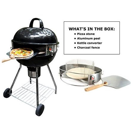 """Image of """"PizzaQue Deluxe Kettle Grill Pizza Kit for 18"""""""" and 22.5"""""""" Kettle Grills PC7001"""""""