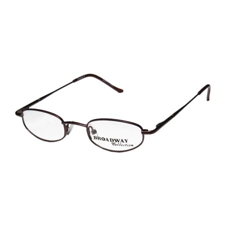 New Broadway Collection 57 Mens/Womens Designer Full-Rim Cherry Durable Fabulous Sleek Frame Demo Lenses 44-19-135 Flexible Hinges Eyeglasses/Eye Glasses