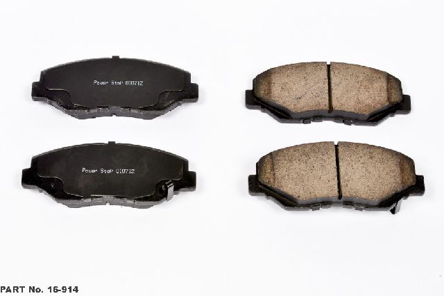 FRONT BRAKE PADS FOR HONDA CIVIC 2012-2017 Premium Brakes