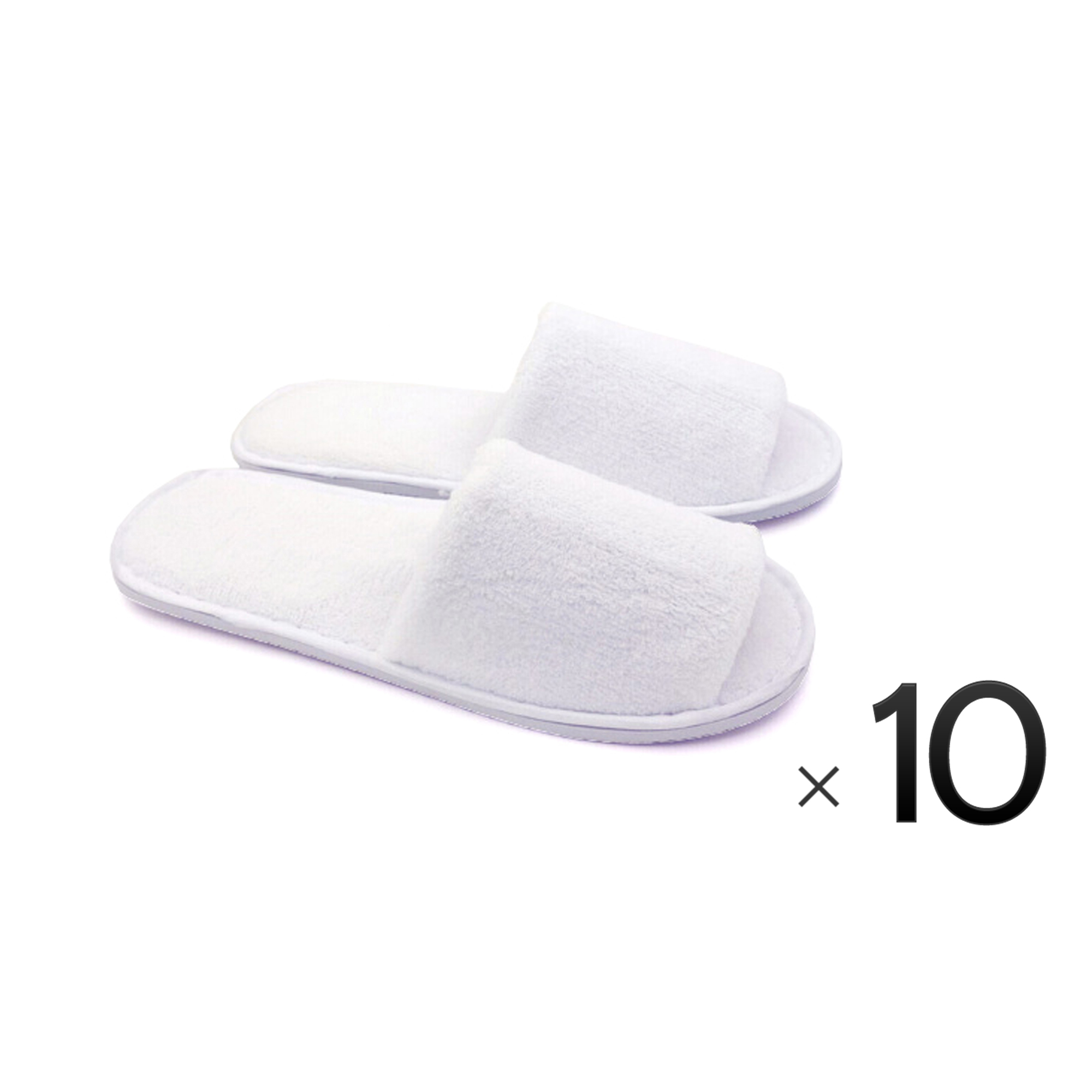 ca4180692 Project E Beauty - One Size Disposable Closed Toe Adult Cotton Slippers  Salon Spa Hotel Slippers for Women and Men 10 Pairs - Pink - Walmart.com