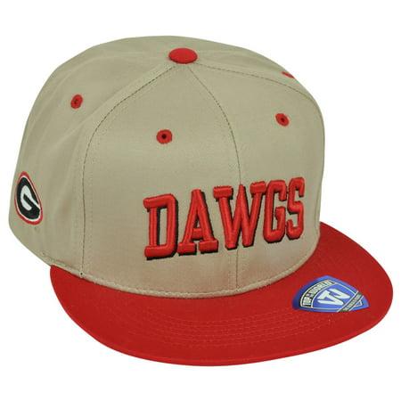 NCAA Georgia Bulldogs Dawgs Top of the World Hunch Snapback Flat Bill Hat  Cap - Walmart.com b2834e73e50