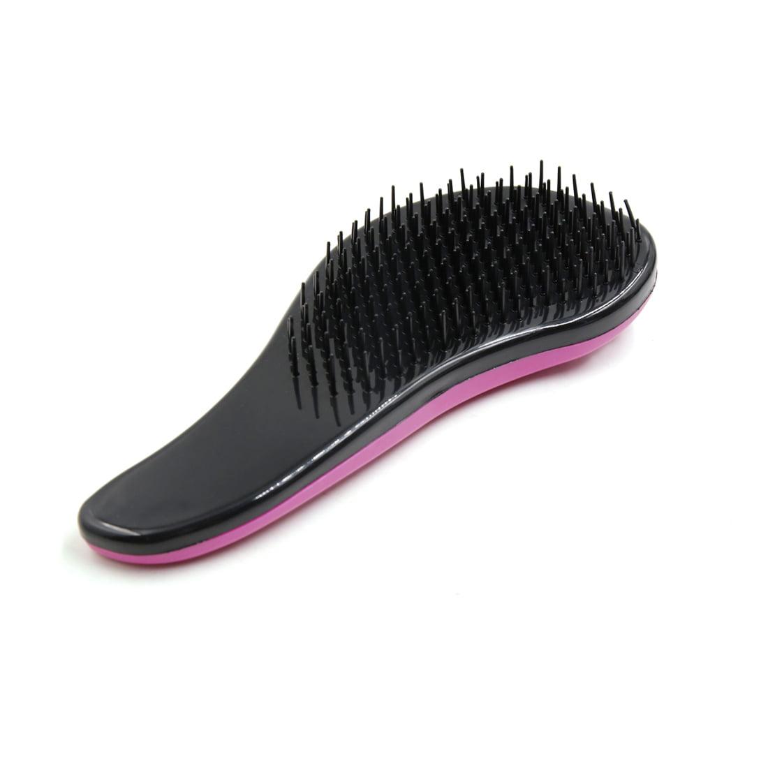 Fuschia Magic Salon Styling Hair Massage Brush Tangle Knot