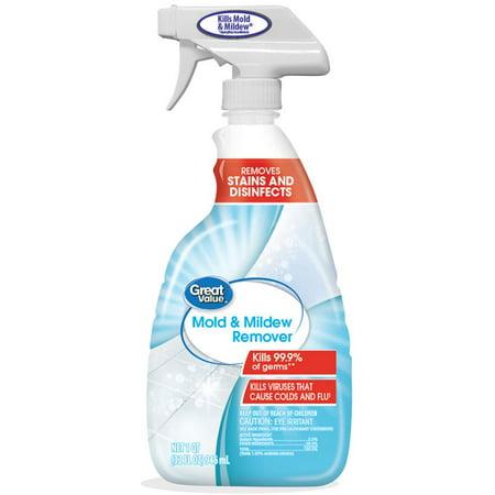 Great Value Mold & Mildew Remover 1 qt Walmart