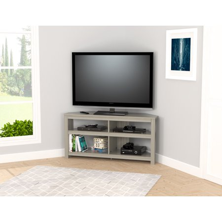 Modern Smoke Oak Corner TV Stand Maple Oak Tv Stand