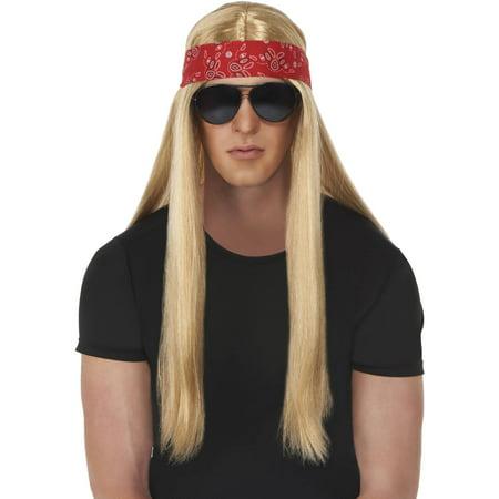 Axl Rock Star Wig Halloween Costume Accessory (Halloween Costume Rock Star)