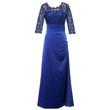 ecd25ba4b67 Sexydance - Women Formal Wedding Bridesmaid Long Maxi Lace Evening Party  Ball Prom Gown Cocktail Dress - Walmart.com