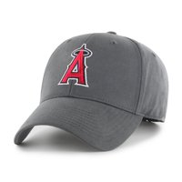 b43140ab44ad09 Product Image Fan Favorite MLB Basic Adjustable Hat, Los Angeles Angels