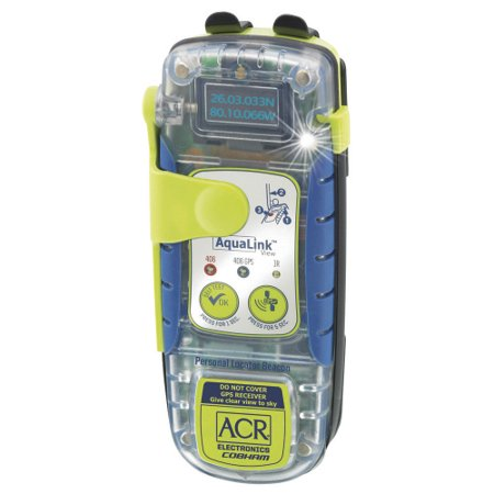 Aqualink View PLB, GPS Strobe 32hr, Disp