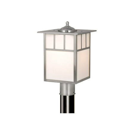 Outdoor Post 1 Light Fixtures With Stainless Steel Finish Stainless Steel Material Medium 9