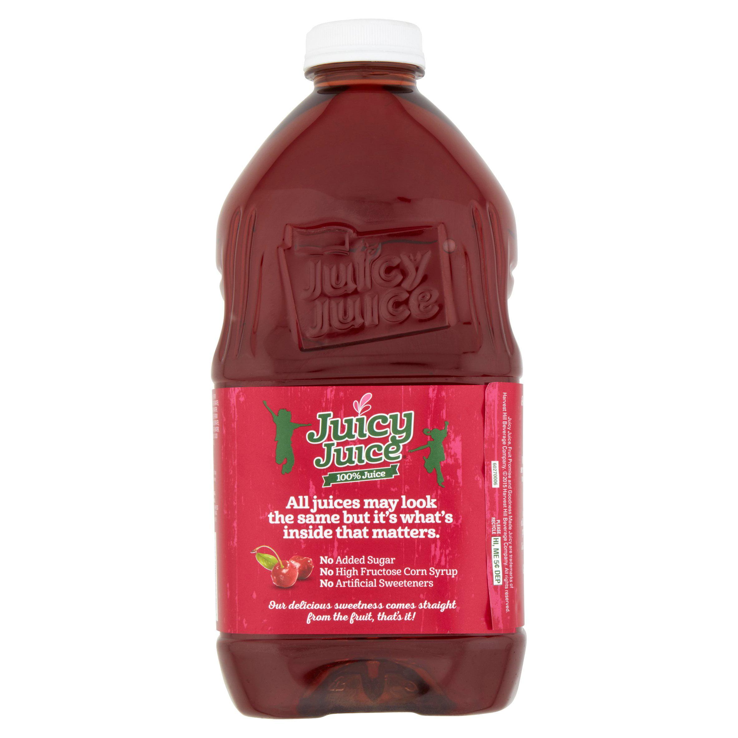 Juicy Juice 100% Cherry Juice, 64 Fl  Oz