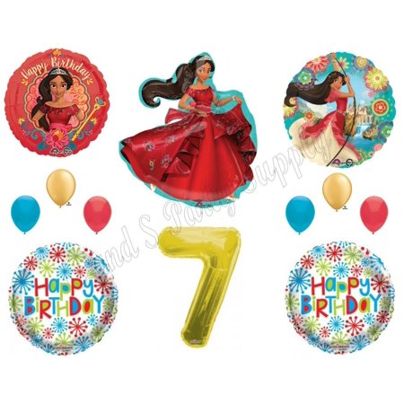 ELENA OF AVALOR 7th Seventh Birthday Party Balloons Decoration Supplies Princess