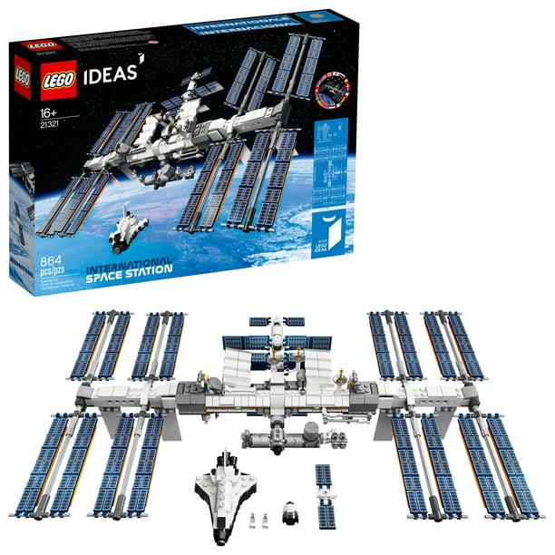 LEGO Ideas International Space Station 21321 Building Kit, Adult LEGO Set for Display (864 Pieces) - Walmart.com - Walmart.com