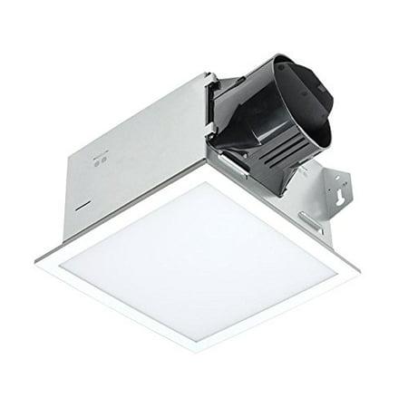 Delta - ITG100ELED BreezIntegrity 100 CFM Fan/Edge-lit Dimmable LED