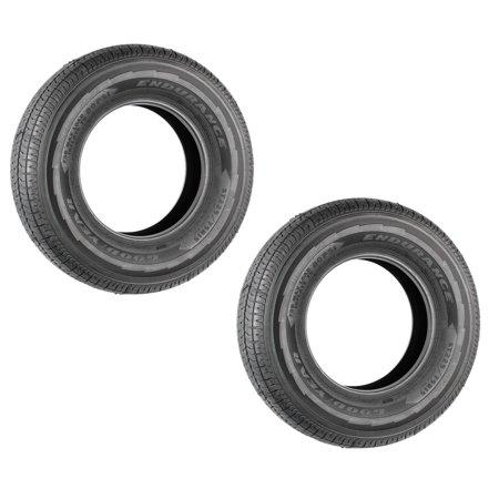 2-Pk Goodyear Endurance Trailer Tire ST225/75R15E BSW 2830 Lb. 80PSI OD-28.31