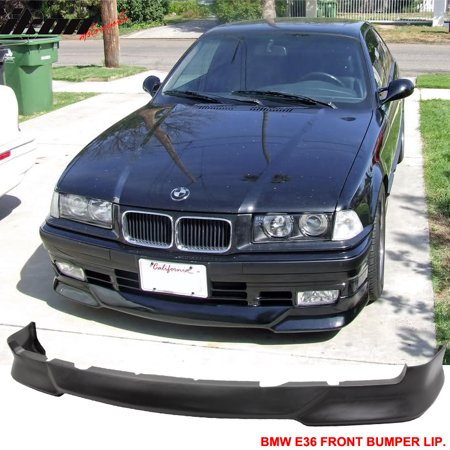 Fits 92-98 BMW E36 3 Series M Tech Msport Front Bumper Lip Unpainted - PU