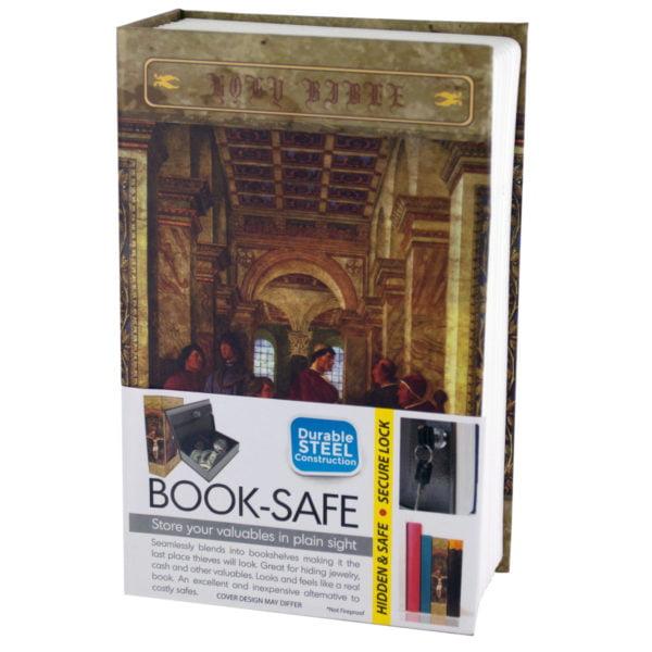 Small Hidden Bible Book Safe (Lot of 3)