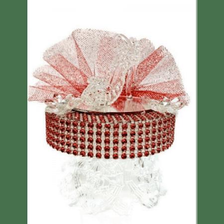 Birthday Cake Topper Decoration High Heel Shoe Design Party Decor Cake Top (Gold High Heel Cake Topper)