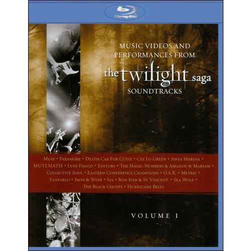 Music Videos And Performances From The Twilight Saga Soundtracks - Volume 1 (Blu-ray) (Widescreen)