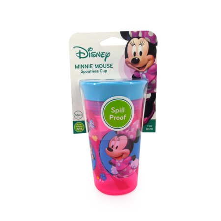 Christmas Sippy Cups (The First Years Disney Simply Spoutless Sippy Cup - Minnie)