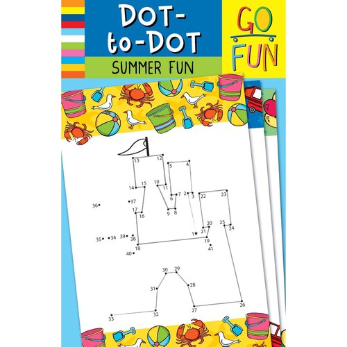 Go Fun! Dot-to-Dot: Summer Fun