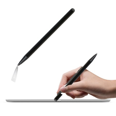 2 in 1 Universal Touch Screen Pen Stylus for iPhone iPad Samsung Tablet Phone