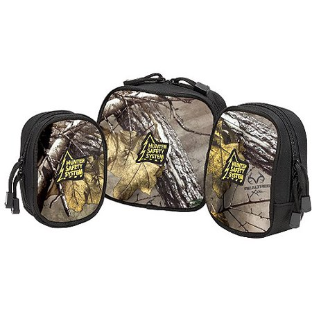 Hunter Safety System Camo Tactical Bags, 3pk