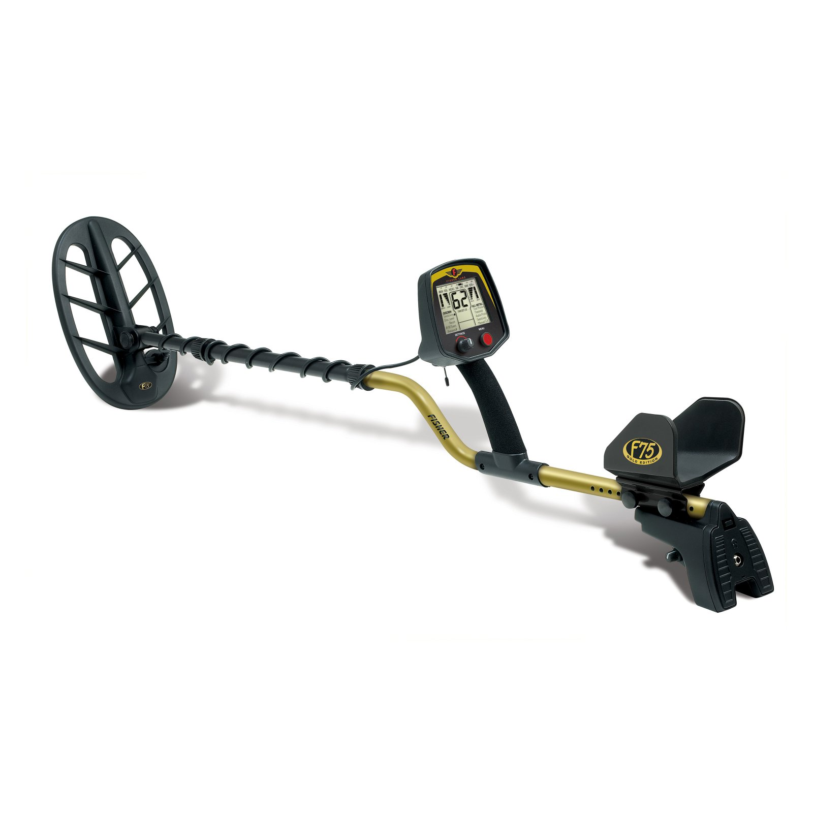 Fisher F75 Multipurpose Metal Detector by First Texas Products LLC