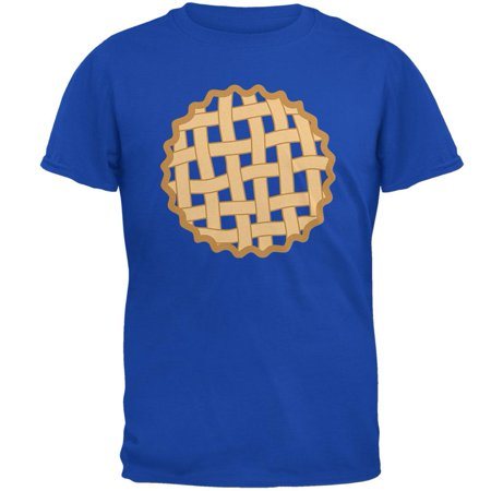 Halloween Lattice Pie Costume Blueberry Mens Soft T Shirt (Blueberry Costumes)