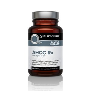 AHCC-Rx Quality of Life Labs 60 Softgel (Best Quality Iron Supplement)
