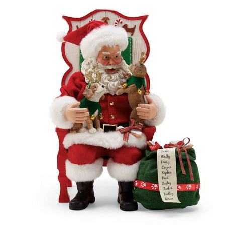 Department 56 Possible Dreams Santa 6000734 Sit Stay Pose - Pose N Stay Skeleton