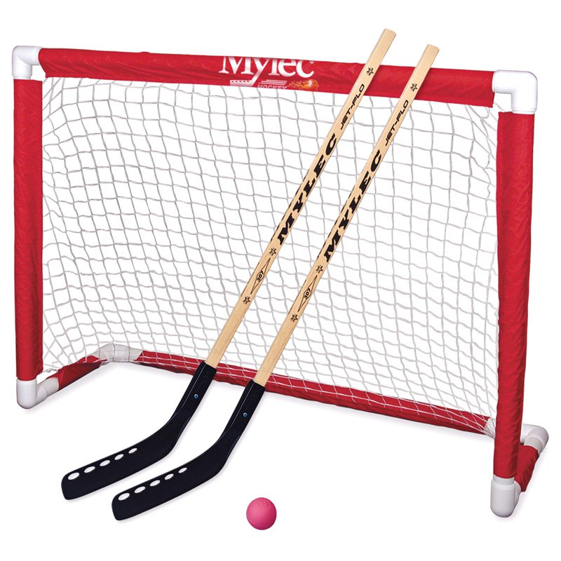 Click here to buy Mylec Deluxe Folding Hockey Goal Set by Stx.