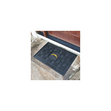 San Diego Chargers Vinyl - NFL San Diego Chargers Medallion Door Mat