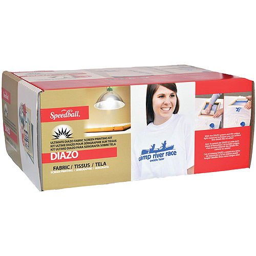 Ultimate Diazo Fabric Screen Printing Kit
