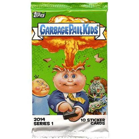 Garbage Pail Kids 2014 Series 1 Trading Card Pack [Retail (Garbage Pail Kids Cards)